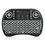 Rii i8s Plus KODI XBMC 2.4Ghz RF Mini Wireless Keyboard With LED Backlit