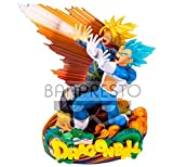 Banpresto Super Master Stars Diorama Dragon Ball Super Vegeta Super Saiyan Blue & Future Trunks Super Saiyan