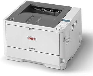OKI B412DN Mono Printer Off White
