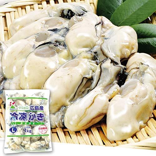 国華園 広島産 冷凍かき 1�s 冷凍便