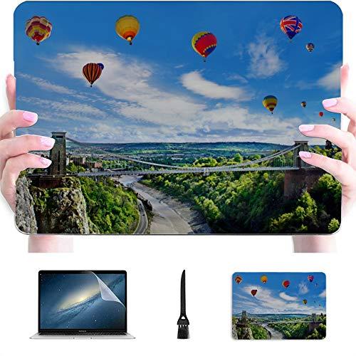 13 MacBook Case Dangerous Suspension Bridge Plastic Hard Shell Compatible Mac Air 13' Pro 13'/16' Laptop Hard Cases Protective Cover for MacBook 2016-2020 Version
