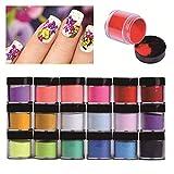 Best Acrylic Powders - Acrylic Powder, QIKI 18 Colors Nail Acrylic Powder Review