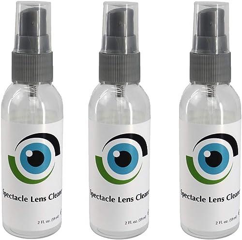 Nettoyant De Lentilles Liquide Leader 3 X 59 Ml / 3 X 2 FL Oz Lunettes De Vue, Appareils De Et Autres Objectifs - Sol...