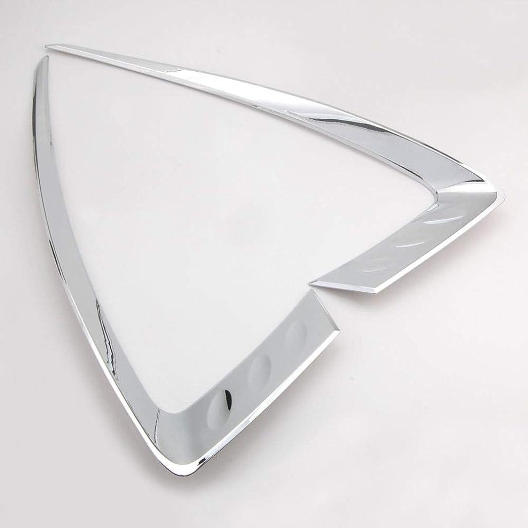 胃奨励しますインタネットを見るJicorzo - ジープグランドチェロキー2014-2016用クロームABSフロントヘッドライトランプまぶたカバートリムエクステリアカースタイリングステッカー装飾モールディング