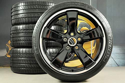 Porsche 970 Panamera Sport Classic - Ruedas de verano (20'), color negro