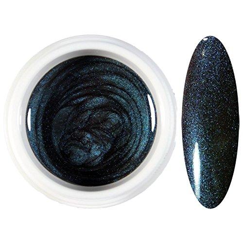 Immler-Nails Flip Flop Effekt Farbgel Türkis -Violett, 4ml # 444