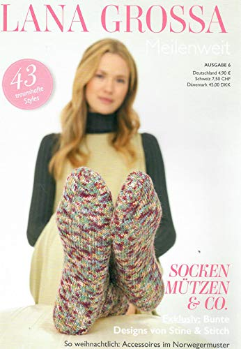 Lana Grossa Strickheft Meilenweit Ausgabe 6