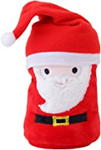 HOLD HIGH Christmas Blanket, Hat and Flannel Snowman Super Soft Christmas Fluffy Blanket Santa Claus Snowman Elk Antlers Air Conditioning Bed Bedding Office Lazy Nap Blankets