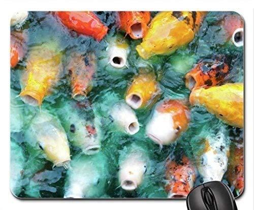 Themed Gaming-Mauspad der Fische, bereiten Sie für Abendessen vor Mauspad, Mousepad