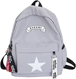 Leng QL Personality Backpacks Student Printing Shoulder Bag Traveling Fashion Street Shooting Backpack