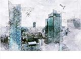 Papel Pintado Pared Dormitorio Fotomurales Decorativos Pared Tapiz De Pared 3D Edificio Del Centro De Berlín Dibujado A Mano Papel Pintado Cuadros Habitacion Bebe Posters Mural Pared