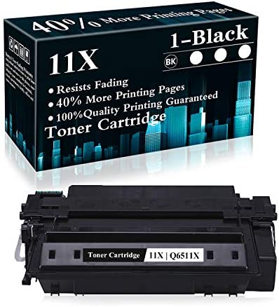 1 Pack 11X Q6511X Black Compatible Toner Cartridge Replacement for HP Laserjet 2430 2410 2420 product image