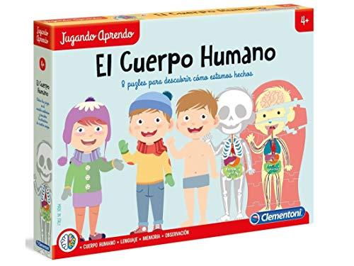 Clementoni-55114 - El cuerpo humano - juego educativo a partir de 4 años
