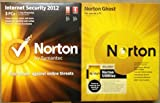 Norton Triple Bundle 2012- 3 Users on Internet Security and Utilities, 1 User on Norton Ghost