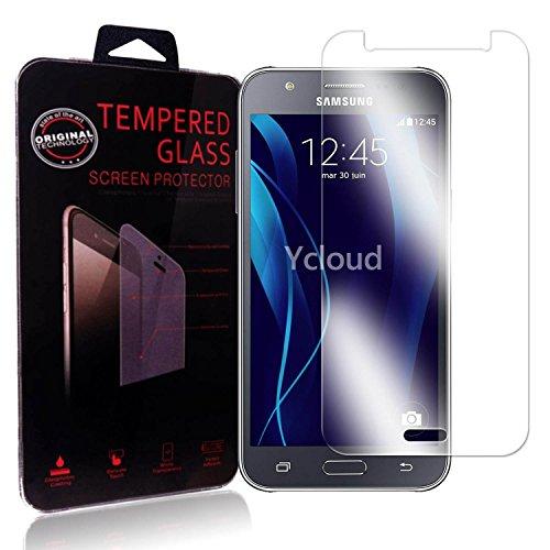 Ycloud Protector de Pantalla para Samsung Galaxy J5 (2015 Version, 5.0Pulgada) Cristal...