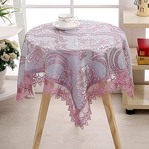 Benbroo Tafelkleed Tuin Tafelkleed Klein Rond Bloemen Kant Tafelkleed met Servetten Dikke Rechthoekig Othera