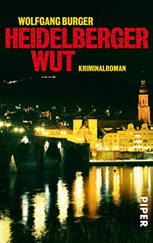 Image of Heidelberger Wut: Kriminalroman (Alexander-Gerlach-Reihe, Band 3)