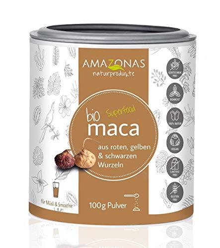 Amazonas Naturprodukte Bio Maca Pulver Pur (1 x 100 g)