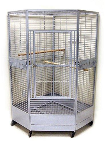 Kapoho Kave II Large Corner Bird Cage -...