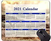 Yanteng 2021カレンダーマウスパッド、休日、サバンナ国立公園、アフリカマウスパッド