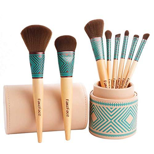 YYF Lisse 8 Pinceau de Maquillage Ensemble débutant Brosse de Maquillage de Doux Ombres à paupières Pinceau Pinceau Exquis