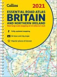 2021 Collins Essential Road Atlas Britain and Northern Ireland