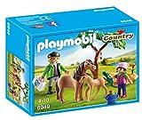 playmobil veterinario con ponis