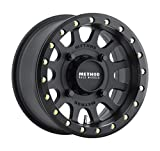 Method 401 Beadlock Matte Black ATV/UTV Wheel 15x7 4/156 - (4+3)