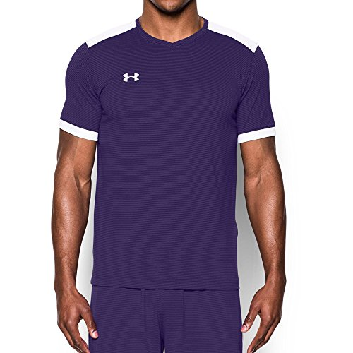 Under Armour UA Microthread Match Jersey MD Purple