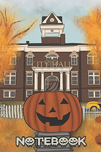 Halloweentown Notebook: (110 Pages, Lined, 6 x 9)