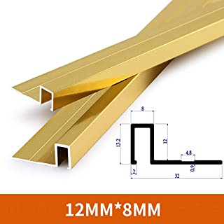 Color : A6 W40 /× L900MM GWXFHT Building Products T Type Non-Slip Threshold Strip Aluminum Alloy Floor Decorative Strip Floor Edge Strip Doorway Blanking Strip