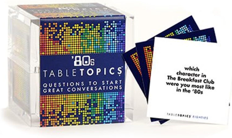 TableTopics '80s by TableTopics