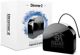 FIBARO 2 Dimming Module Z-Wave Plus Light Dimmer, FGD-212, Black
