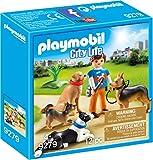 PLAYMOBIL- Adiestrador de Perros Juguete, Multicolor (geobra...