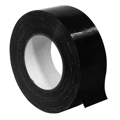 Gaffa 30005320 Accessory Standard Tape (48 mm x 50 m) schwarz