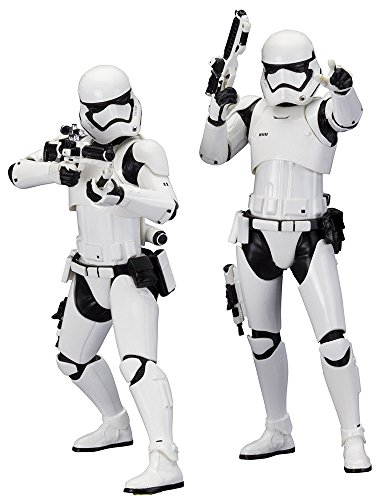 Star Wars Stormtrooper First Order Pack 2 Figuras, 18 cm (Bandai SW107)