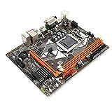 m-atx scheda madre, b85 scheda madre pc desktop, scheda madre computer lga 1150 con chip audio ddr3 1600/1333/1066 mhz / usb3.0 / sata3.0/6 canali, supporto disco rigido dual-mode nvme + ngff