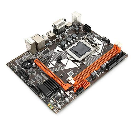 T angxi Placa Base para PC de Escritorio para Intel B85, 2 × Memoria DDR3 1600/1333/1066 MHz/Ranura para gráficos 1xPCI-EX16/CPU para LGA 1150 para Placa Base de Disco Duro USB3.0 SATA3 M.2
