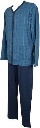 RAGNO Long et Ouvert Pyjama Homme Jersey Article N24522