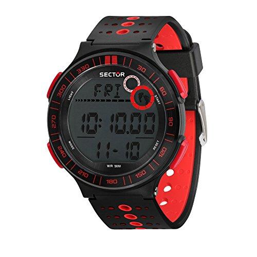 SECTOR NO LIMITS Reloj Digital para Hombre de Cuarzo con Correa en Plástico R3251512002