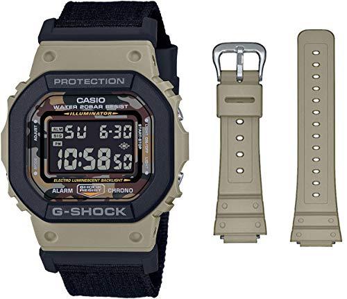 G-Shock Reloj Digital para de los Hombres de Cuarzo con Correa en Nailon DW-5610SUS-5ER