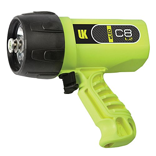 Underwater Kinetics C8 eLED (L2) Dive Light, Safety Yellow