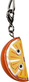 Kidrobot Yummy World Fresh Friends Figure Keychain - Orange Wedge