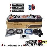Blue-Yan Arcade Video Game Console 2177 HD Juegos Retro Pandora's Box 7 Jamma 1080HD Soporte de Arcade Machine 2 Jugadores Arcade Joystick
