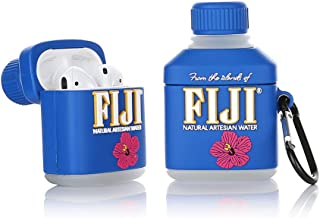 LEWOTE Silicone Case Compatible for Apple Airpods 1&2 Funny Cover[Best Gift for Kids Boys Girls] (Flower Mineral Water)