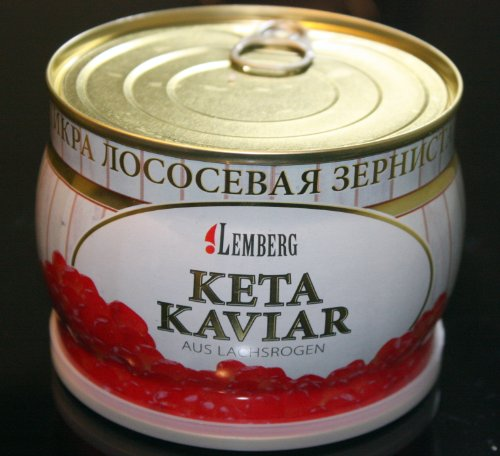 Kaviar aus Dorschrogen Lemberg 10x100g