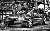 Zopix Premium Poster Audi Pkw Sportwagen Fahrzeug Auto