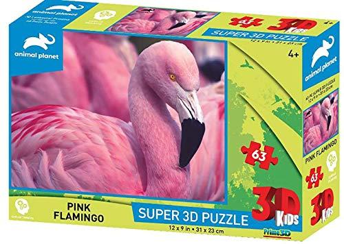 Prime 3D 10651 3D-Puzzle Flamingo