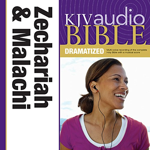 Dramatized Audio Bible - King James Version, KJV: (28) Zechariah and Malachi audiobook cover art