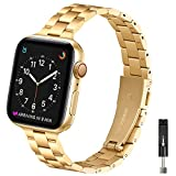 OMIU Thin Band Compatible with Apple Watch 40mm 38mm...